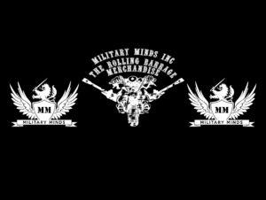 The Rolling Barrage Merchandise Logo